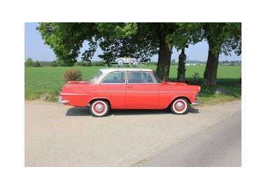 Opel Rekord B limousine 4-doors from 1965-1966 (only LHD)