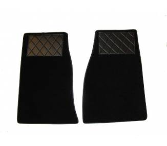 Carpet mats for Austin Healey 3000 MKIII BJ8 (only LHD)