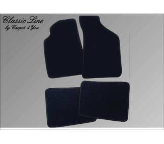 Carpet mats for Maserati Quattroporte IV (only LHD)
