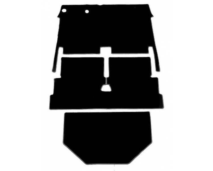 Moquette de sol pour Citroën Dyane 1967-1984