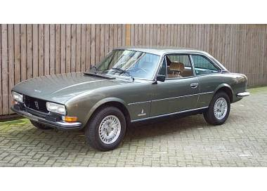 Peugeot 504 Coupe 1968-1984 (only LHD)