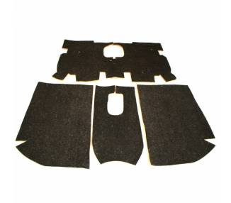 Complete interior carpet kit for Peugeot 205 CTI Cabrio