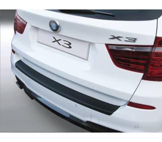 Trunk protector for BMW X3 F25 à partir du 11/2010- pour la jupe arriere type M