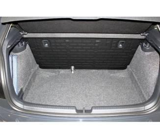 Tapis de coffre pour VW Polo VI 2G (4AW) à partir de 2017 berline 5 portes Coffre bas Modèle sans surface de chargement