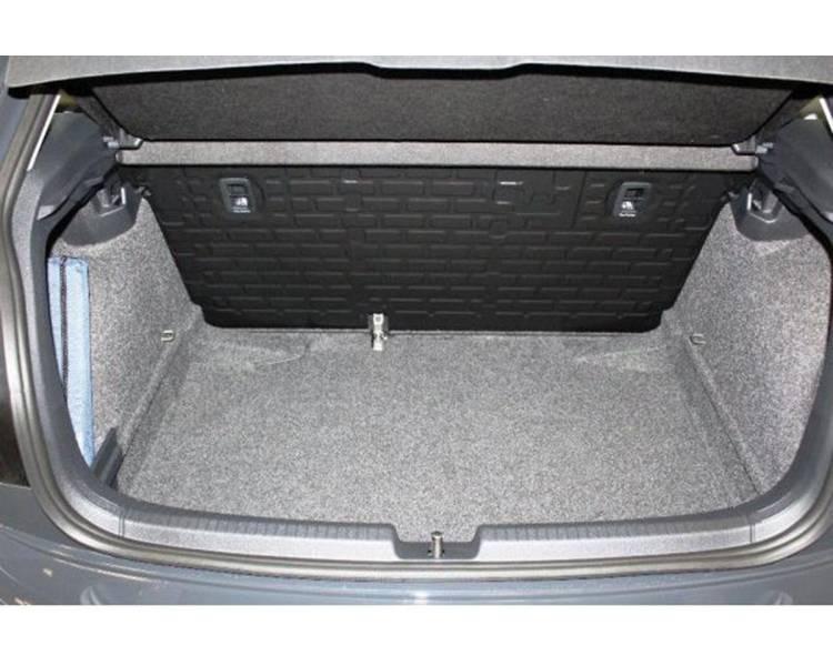 Boot mat for pour VW Polo VI 2G (4AW) à partir de 2017 berline 5 portes Coffre bas Modèle sans surface de chargement