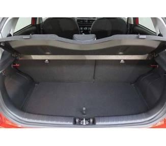 Boot mat for pour Kia Picanto III (JA) à partir de 2017 berline 5 portes Coffre haut Modèle avec surface de chargemen