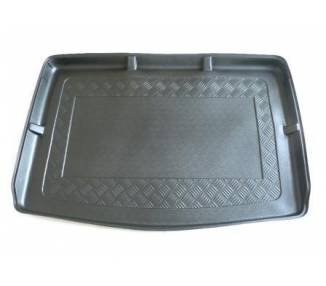 Boot mat for Volkswagen Golf 5 Plus Berline du 01/2005-2009 rangé de siege arriere repoussé