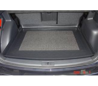 Boot mat for Volkswagen Golf VI plus 2009-2014 sièges arrières completement repoussés vers l'avant