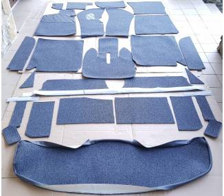 Complete interior carpet kit for BMW E9 from 1968-1975 (ony LHD)