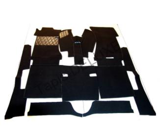 Complete interior carpet kit for Mercedes-Benz W108 250 S, 250SE, 280 SE, 280 SE, 35.L 280, SE 4.5L from 1969-1972 (only LHD)