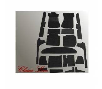 Complete interior carpet kit for Mercedes-Benz W115/8 limousine from 1968-1976 (only LHD)