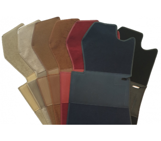 Complete interior carpet kit for Mercedes-Benz W116 SEL 1972-1980 (only LHD)