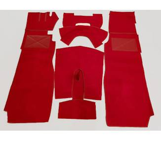 Complete interior carpet kit for Jaguar XK 150 FHC Fixed Head Coupe