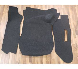 Trunk carpet for Porsche 911 with servo brakes from 1974-1976 set
