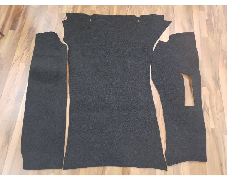 Trunk carpet for Porsche 911 without servo brakes from 1974-1976 set