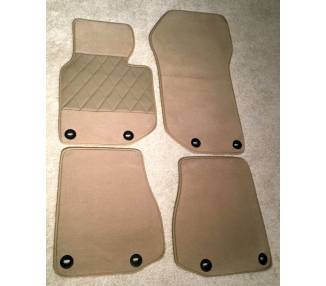 Carpet mats for BMW E36 Cabrio 1993-1999