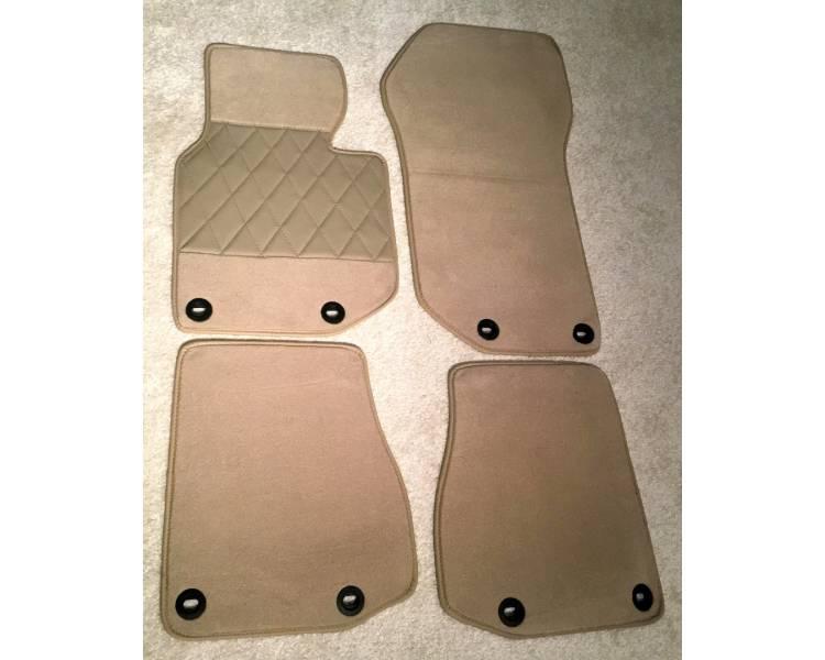 Carpet mats for BMW E36 Cabrio 1993-1999