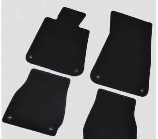 Carpet mats for BMW E30 Cabrio 1985-1993