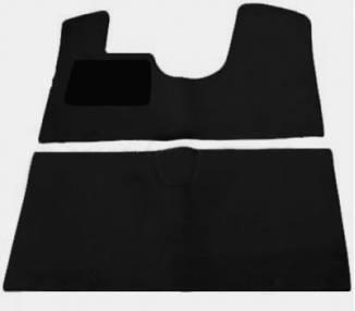 Fußmatten für Citroen DS mit Bremsknopf DS19-DS20-DS21