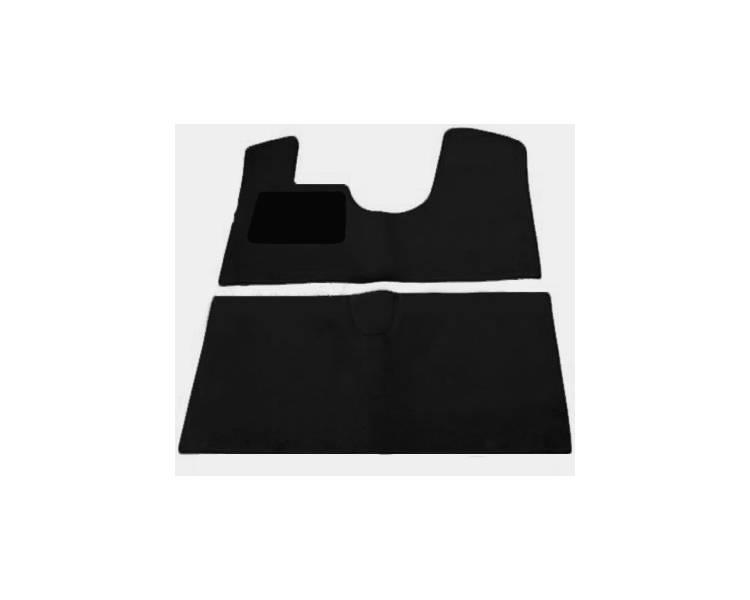 Carpet mats for Citroen DS with break button DS19-DS20-DS21