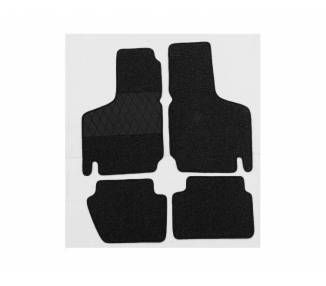 Carpet mats for Fiat 500 old