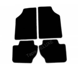 Carpet mats for Ford Escort RS turbo 1984-1990 (only LHD)