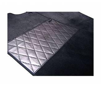 Carpet mats for Jaguar E series 1 non flat floor (only LHD)
