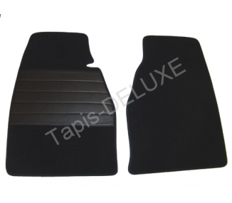 Carpet mats for Jaguar E series 2 non flat floor (only LHD)