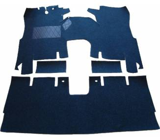 Complete interior carpet kit for Ford Taunus limousine P7 2 doors from 1967-1971 (only LHD)