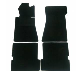 Carpet mats for Mercedes-Benz C107 SLC from 1971–1989 (only LHD)