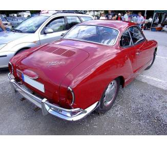 Trunk carpet for Karmann Ghia coupe and cabrio type 14 from 1955-1974 (only LHD)