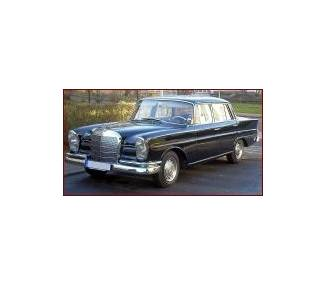Complete interior carpet kit for Mercedes-Benz W112 limousine 1961-1965 (only LHD)