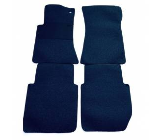 Carpet mats for Mercedes-Benz W111 cabrio 1961-1971 (only LHD)