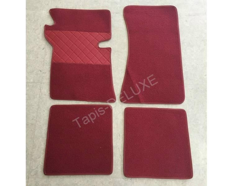 Carpet mats for Opel Rekord B 1965-1966 (only LHD)