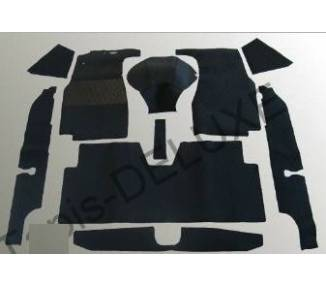 Complete interior carpet kit for Mercedes-Benz Ponton limousine big W105-W180I-W180II-W128 from 1957-1960 (only LHD)