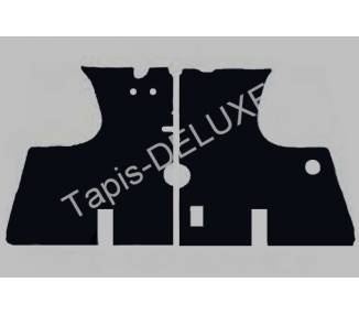 Carpet mats for Renault R8 and R8 Gordini 1962-1973 (only LHD)