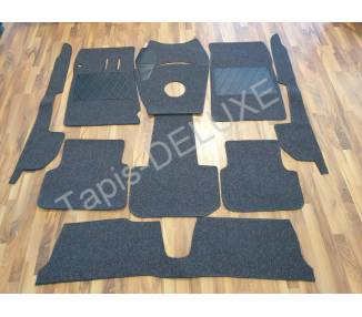 Complete interior carpet kit for Alfa Romeo 2600 Sprint 1962-1966 (LHD and RHD)