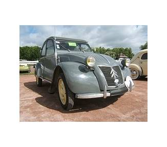 Komplettausstattung für Citroën 2CV Baujahr 1949–1990