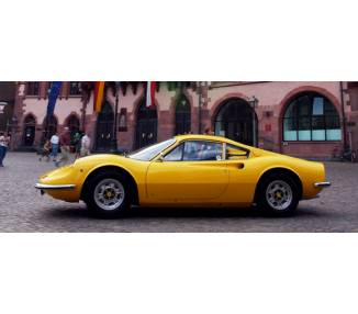 Complete interior carpet kit for Ferrari Dino 246 GT 1969-1973 (only LHD)