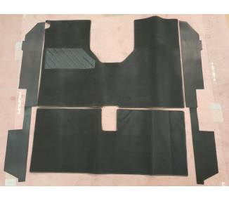 Complete interior carpet kit for Renault 6 L / TL 1968-1986 (only LHD)