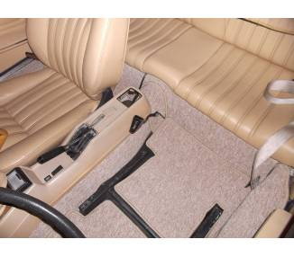 Complete interior carpet kit for Fiat 124 Spider from 1966-1970 (only LHD)
