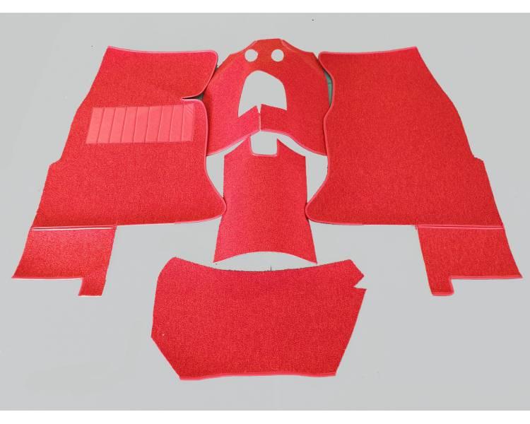 Complete interior carpet kit for Chevrolet Corvette C1 1956-1962 (only LHD)