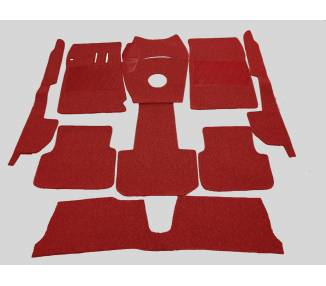 Complete interior carpet kit for Alfa Romeo 2000 Sprint 1959-1962 (only LHD)