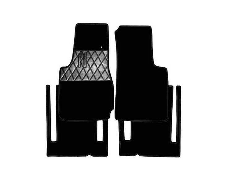 Carpet mats for Fiat 1500 and 1600 Spider 1962-1966 (only LHD)
