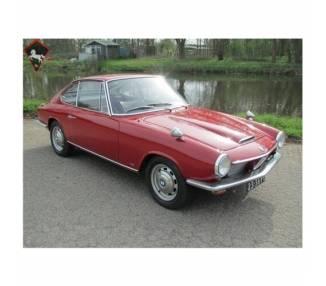 Moquette de sol pour BMW 1600 GT 1967-1968 avec coffre