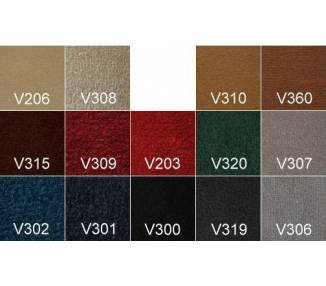 Velours Carpet Samples for Oldtimer Restoration