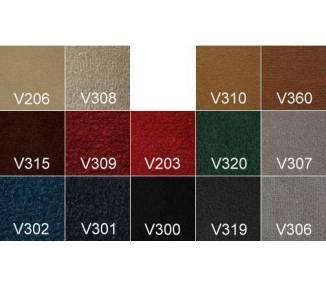 Velours-Teppichmuster für Oldtimer-Restaurierung