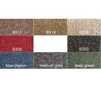 square weave Carpet Samples for Oldtimer Restoration