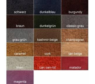Echantillons de Moquette de restauration Auto en Velours tricoté