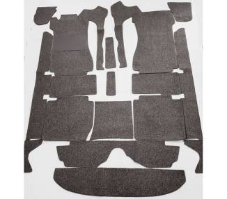 Complete interior carpet kit for Mercedes-Benz W114/8 limousine from 1968-1976 (only LHD)